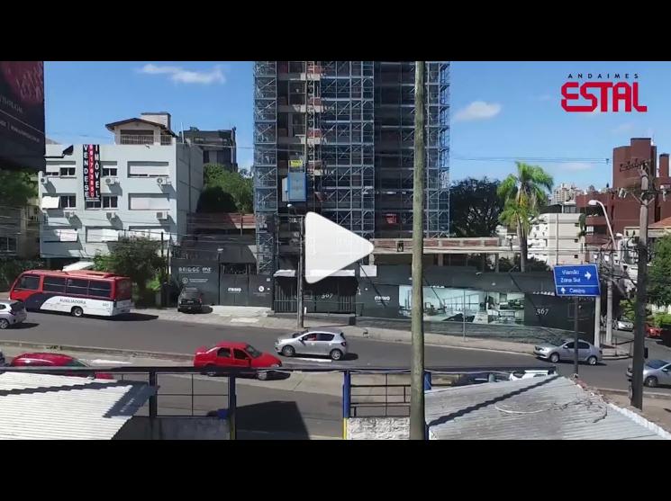 [Vídeo] Qualidade em todos os detalhes da obra – ESTAL ANDAIMES
