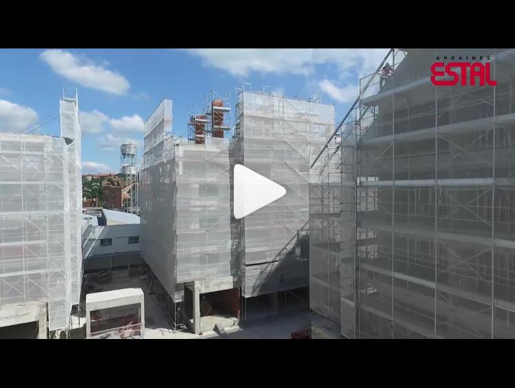 [Vídeo] Mais de 40 anos de experiência com soluções em andaimes – ESTAL ANDAIMES