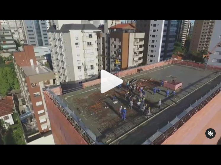 [Vídeo] Dia de concretagem – ESTAL ANDAIMES